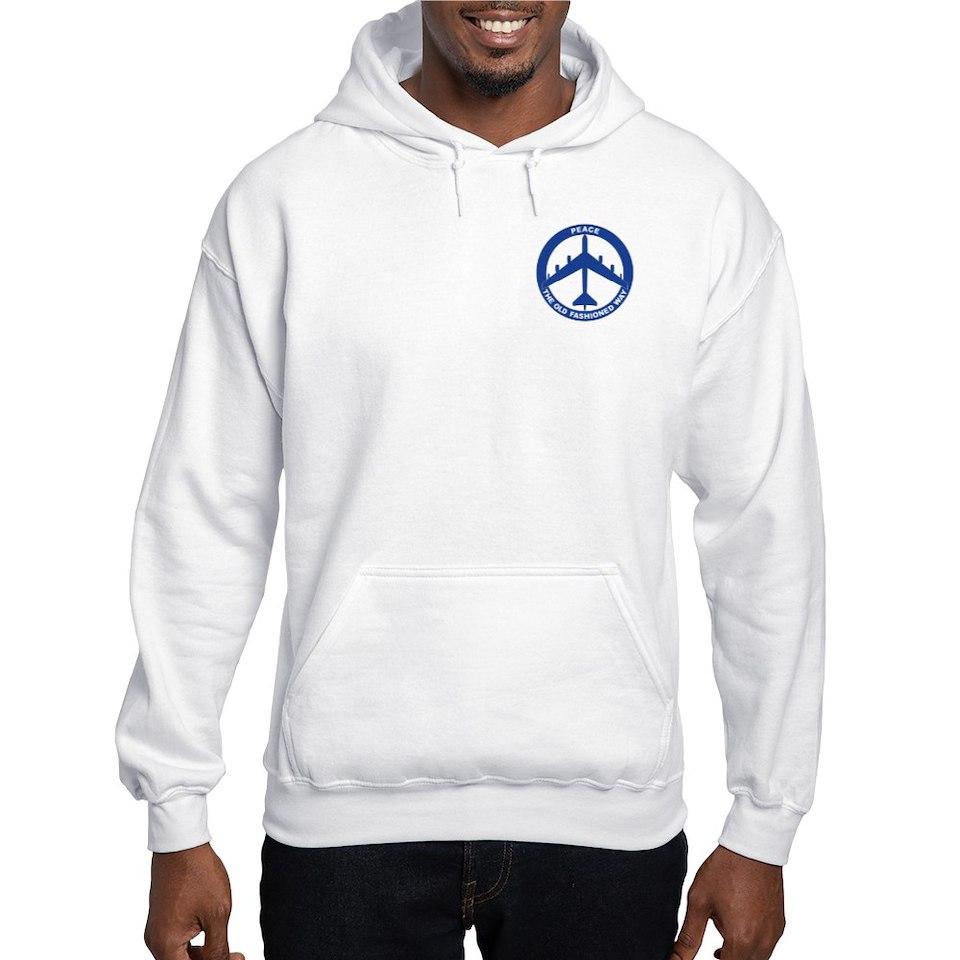 Air Force Gifts  Air Force Sweatshirts & Hoodies  B 52G Peace