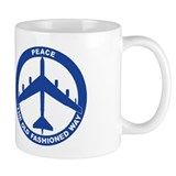 B-52G Peace Sign Coffee Mug