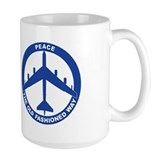 B-52G Peace Sign Mug