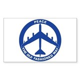 B-52G Peace Sign Decal