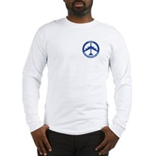 B-52H Peace Sign Long Sleeve T-Shirt