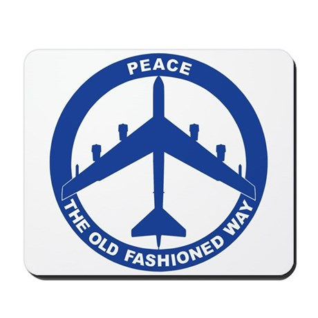 B-52H Peace Sign Mousepad