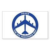 B-52H Peace Sign Decal