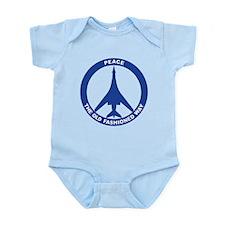 B-1B Peace Sign Infant Bodysuit