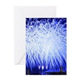 Air Force Fireworks Greeting Card