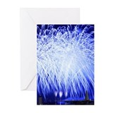 Air Force Fireworks Greeting Cards (Pk of 20)