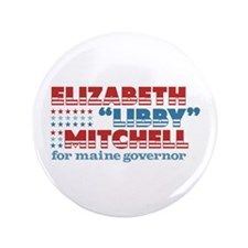"Mitchell for Governor 3.5"" Button"
