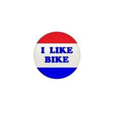 I Like Bike Mini Button