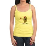 Shar-Pei Santa's Cookies Jr. Spaghetti Tank