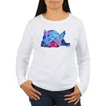 French Bulldog Frenchies Women's Long Sleeve T-Shi