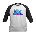 French Bulldog Frenchies Kids Baseball Jersey
