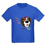 Papillon Santa's Cookies Kids Dark T-Shirt