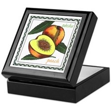 Peach Keepsake Box