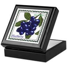 Blueberry Keepsake Box
