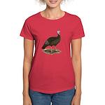 Turkey: Eastern Wild Hen Women's Dark T-Shirt