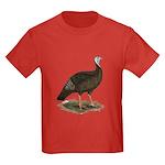 Turkey: Eastern Wild Hen Kids Dark T-Shirt