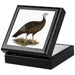 Turkey: Eastern Wild Hen Keepsake Box