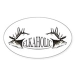 Elkoholic Sticker (Oval 10 pk)