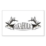 Elkoholic Sticker (Rectangle 10 pk)
