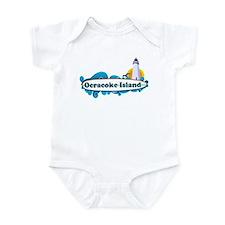 Ocracoke Island - Surf Design Infant Bodysuit