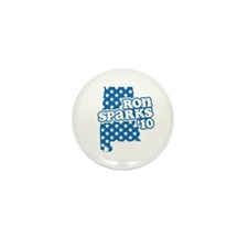 Ron Sparks 2010 Mini Button (100 pack)