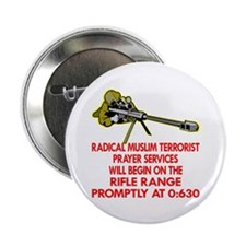 "Terrorist Prayer Services 2.25"" Button (10 pack)"