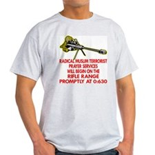 Terrorist Prayer Services T-Shirt