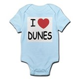 I heart dunes Infant Bodysuit