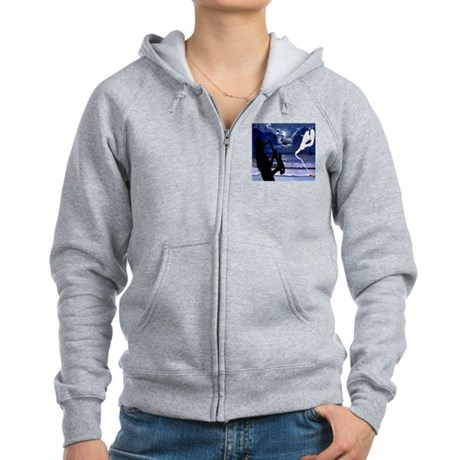 THE CHARMER Women's Zip Hoodie