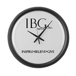 IBG, Inc. Large Wall Clock
