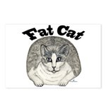 Fat Cat Postcards (Package of 8)