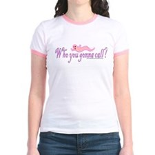 """Who you gonna call?"" Pink T"