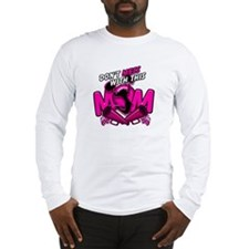 Don't Mess With This Cheer Mom Long Sleeve T-Shirt
