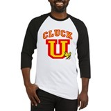 Cluck U Chicken University Baseball Jersey