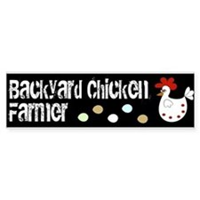 Backyard Chicken Farmer Eggs Bumper Bumper Sticker