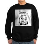 doctor joke Sweatshirt (dark)
