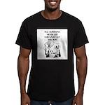 doctor joke Men's Fitted T-Shirt (dark)