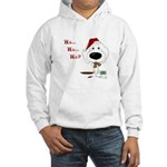 Poodle Santa's Cookies Hooded Sweatshirt