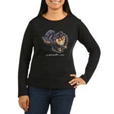 Black Tan Pomeranian T-Shirt