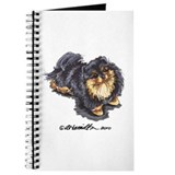 Black Tan Pomeranian Journal