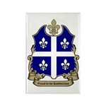 Proud Quebecoise Rectangle Magnet (10 pack)