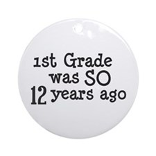 12 Years Ago Ornament (Round)