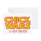 Chick Wars: A New Brood Greeting Cards (Pk of 10)