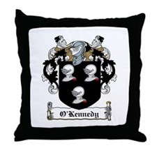 O'Kennedy Family Crest Throw Pillow
