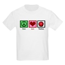 Peace Love Teachers T-Shirt