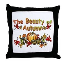 Autums Leaves Throw Pillow