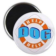 "Help Dog Help 2.25"" Magnet (10 pack)"
