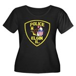 Elgin Illinois Police Women's Plus Size Scoop Neck