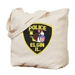 Elgin Illinois Police Tote Bag