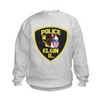 Elgin Illinois Police Kids Sweatshirt